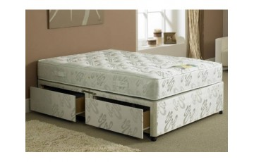 Hercules 1000 Pocket Sprung 6ft Super King Divan Set
