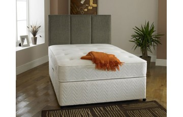 Royale Open Coil Sprung 2ft6 Small Single Divan Set