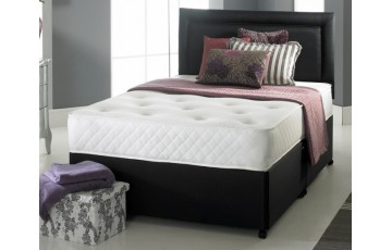 Solo Memory Foam 2ft6 Small Single Divan Set