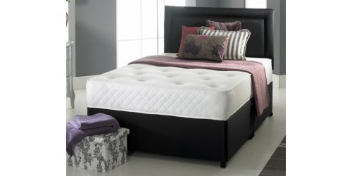 Solo Memory Foam 6ft Super King Divan Set