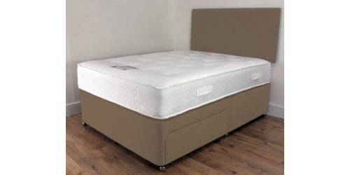 Total Comfort 1000 6ft Pocket Memory Divan Set