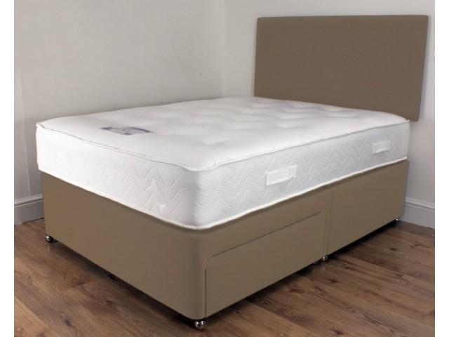 Total Comfort 1000 3ft Single Memory Foam and Pocket Sprung Mattress