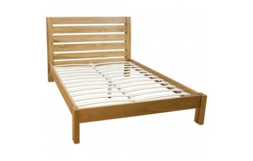 Monaco Solid Oak 4ft6 Bed Frame