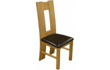 H Oak Dining Chair