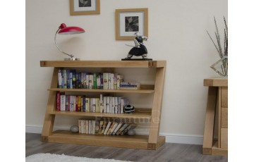 New York Solid Oak Small Bookcase