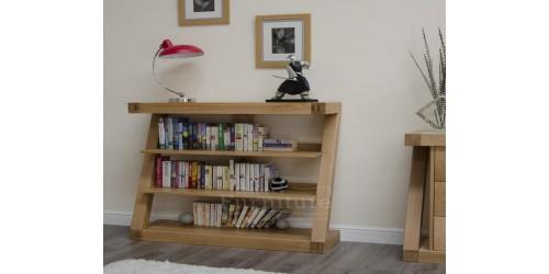 New York Solid Oak Small Bookcase