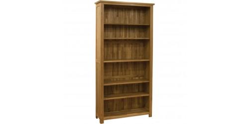 Sherwood Deluxe Oak Tall Bookcase