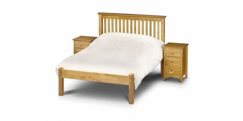 Madrid Pine 5ft Low Footend Bed Frame