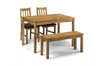Lille Dining Set 2 Chairs + Bench
