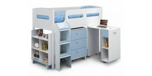 Katie Cabin Bed - Pink or Blue