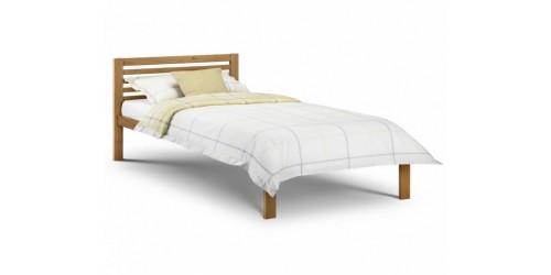 Sara 3ft Pine/White Bed Frame