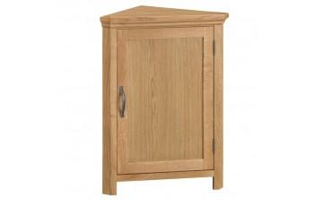 Corby Oak Corner Cupboard