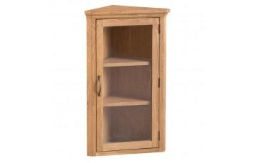Corby Oak Corner Cupboard Top
