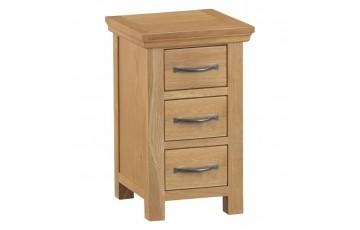 Corby Oak Narrow Bedside Cabinet