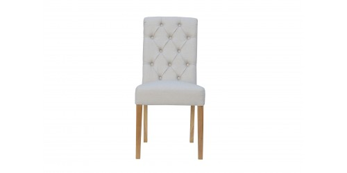 Boston Fabric Chair Natural