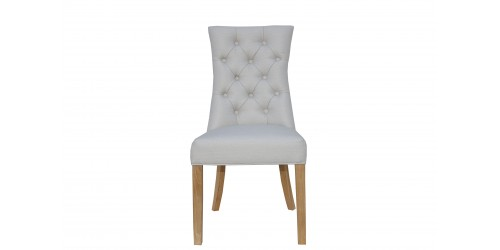 Carla Curved Chair Natural