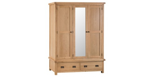 Cranbrook 3 Door Wardrobe