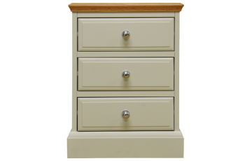 Danton Painted Oak Large Bedside Cabinet