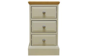 Danton Small Painted Oak Bedside Cabinet