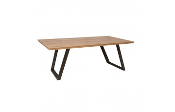 iyla 2.2m Fixed Top Dining Table