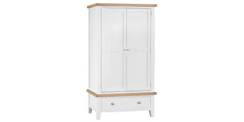 Trieste 2 Door 1 Drawer Wardrobe