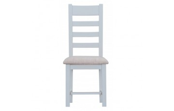 Trieste Ladder-Back Dining Chair (Padded Seat)