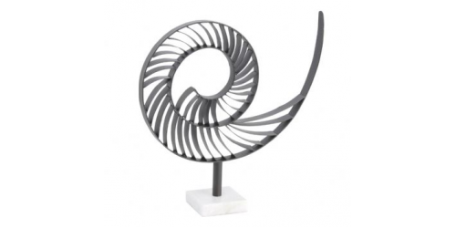Abstract Nautilus On Marble Base