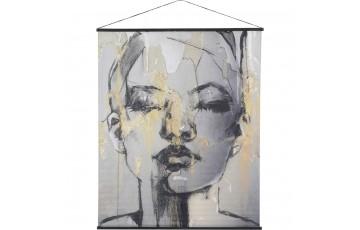 Female Figure Velvet Hanging Wall Art