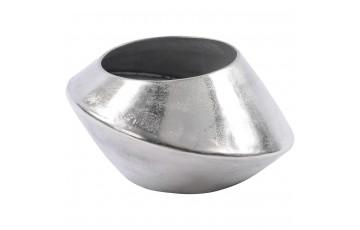 Large Aluminium Abstract Vase