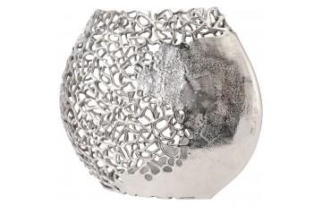 Coral Ellipse Aluminium Vase
