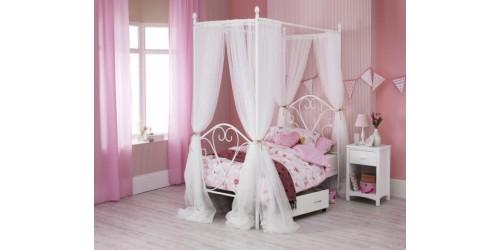Bella 3ft Kids Four Poster Bed Frame