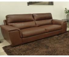 Gagliano 3 Seater Italian Leather Sofa