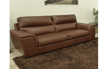 Gagliano 3 Seater Italian Leather Sofa