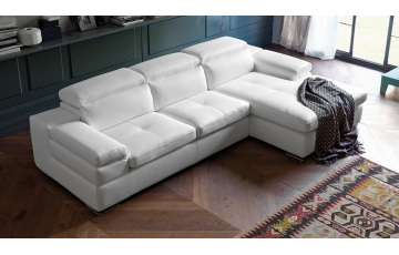 Miro 3 Seater Italian Leather Sofa