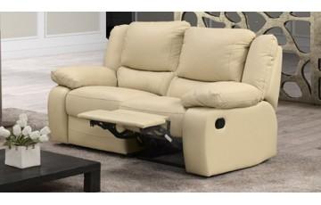 Virginia 2 Seater Italian Leather Sofa
