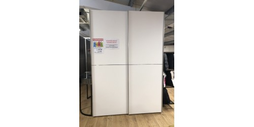 Nolte Pearl White Sliding wardrobe - SHOP FLOOR CLEARANCE!!!