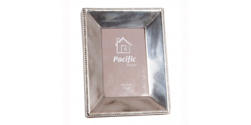 Antique Silver Oblong Photo Frame Small