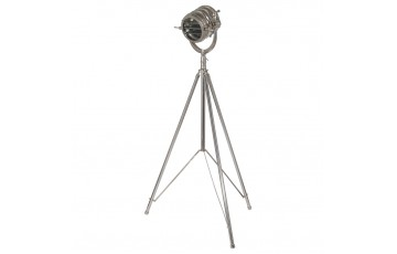 Nickel Tripod Divers Floor Lamp Complete
