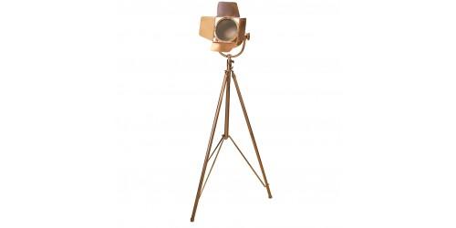 Copper Floor Film Light