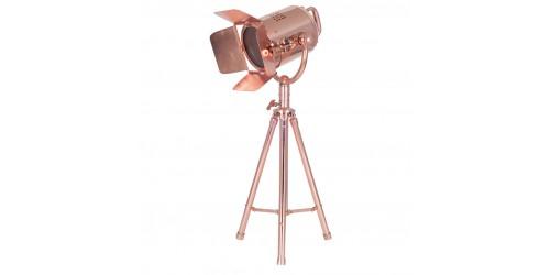 Copper Table Film Light