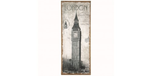 London Design Oblong Wall Canvas