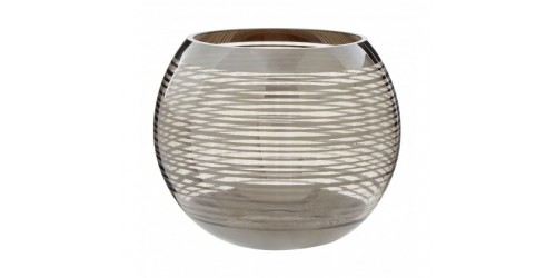 Large Rounded Glass Vase