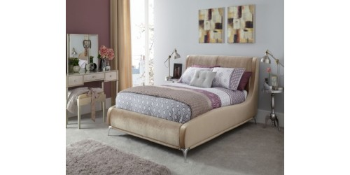 Fiona 6ft Upholstered Bed Frame