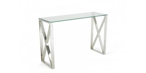 Alton Glass Console Table