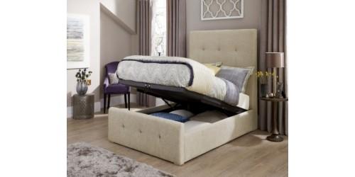Kathleen 4ft6 Upholstered Ottoman Bed