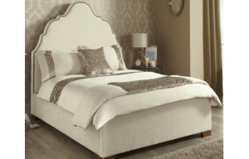 Kimberley Upholstered in Ebony 5ft Bed Frame