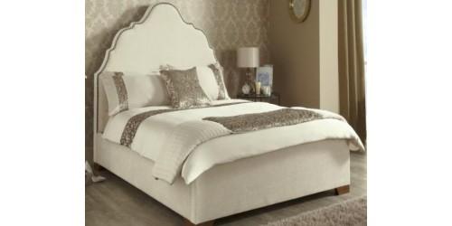 Kimberley Upholstered in Ebony 4ft6 Bed Frame