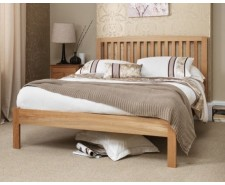 Toulouse 4ft6 Solid Oak Bed Frame