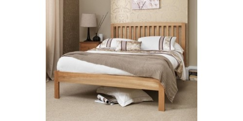 Toulouse 5ft Solid Oak Bed Frame