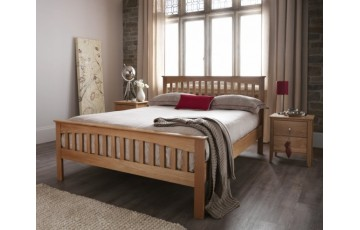 Wessex Solid Oak High Foot End 6ft Bed Frame